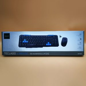 Kit Inalámbrico Teclado+Mouse