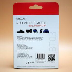 Receptor de audio Dblue