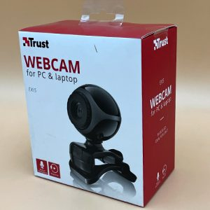 Webcam Usb Trust con Micrófono