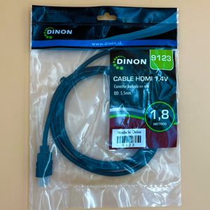 Cable HDMI 1.8mts Dinon