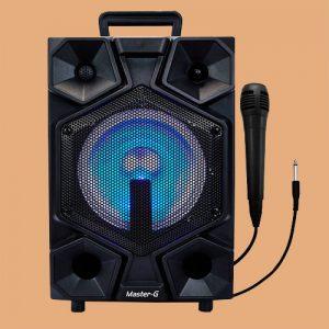 Parlante Karaoke 8″ Master G