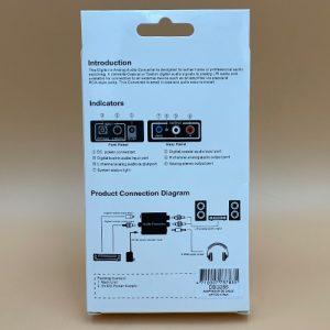 Adaptador Optico a RCA