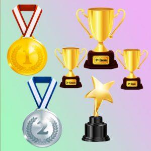 Copas, Trofeos y Medallas