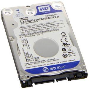 Disco Duro Interno 2.5 – 500GB