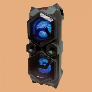 Parlante Master G Twister BT 4 PuLG Con Luces Led