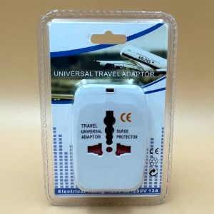 Adaptador Enchufe Universal Para Viajeros