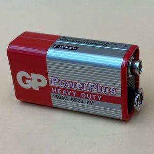 Batería 9V Carbón
