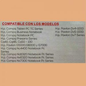 Cargador NTB(104) 18.5V – 3.5A Pin Central