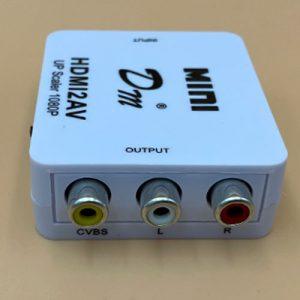 Adaptador HDMI a RCA