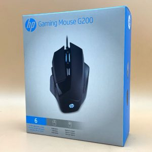 Mouse Gamer Hp G200 Ergonómico