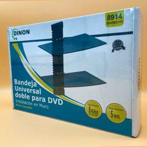 Soporte Doble Para DVD Dinon 8914