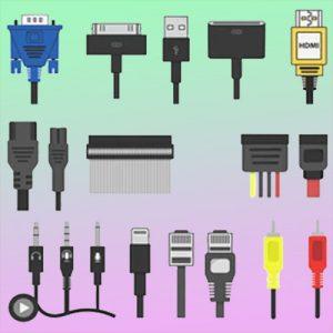 Cables, Cargadores y Adaptadores