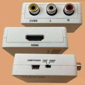 Adaptador RCA a HDMI